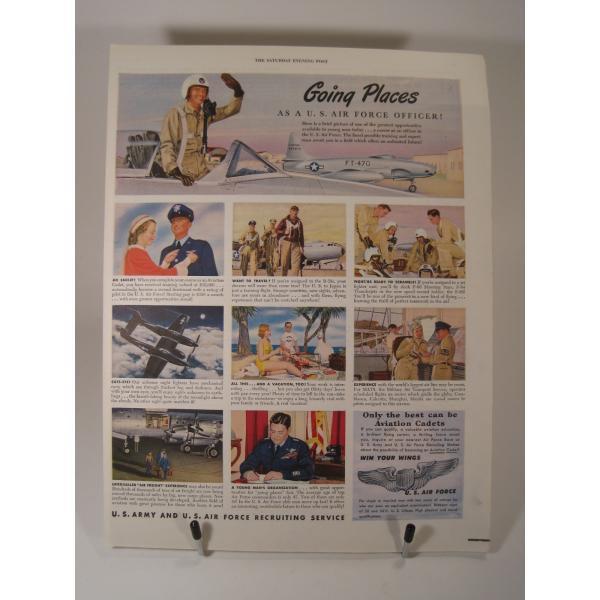 ヴィンテージ広告・アメリカ・米国海軍・1949年【画像2】