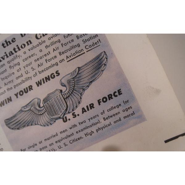 ヴィンテージ広告・アメリカ・米国海軍・1949年【画像3】