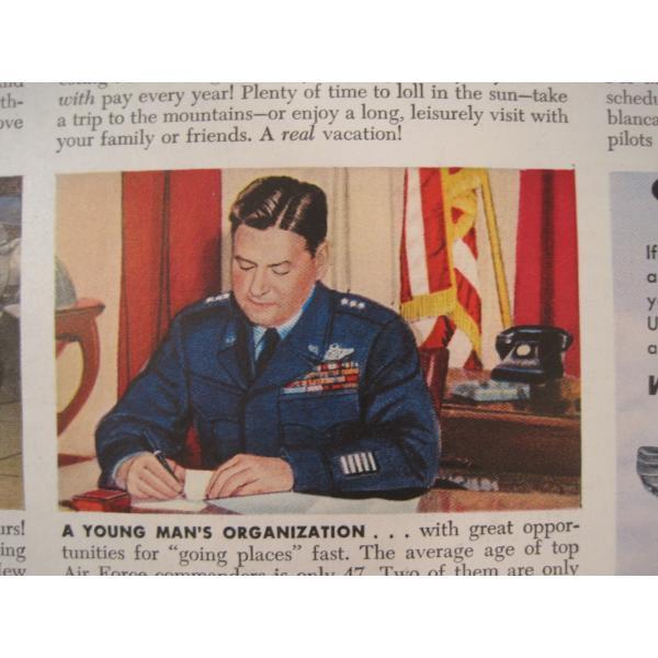 ヴィンテージ広告・アメリカ・米国海軍・1949年【画像4】