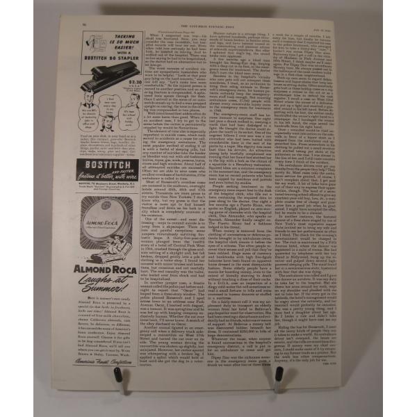 ヴィンテージ広告・アメリカ・米国海軍・1949年【画像6】