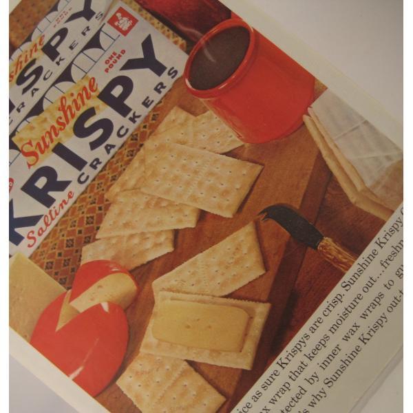 ヴィンテージ広告・クリスピークラッカー・1961年