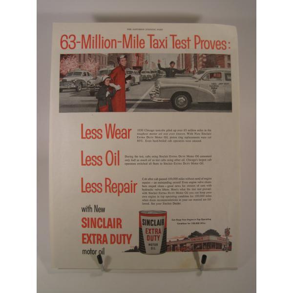 ヴィンテージ広告・アメリカ・モーター系・オイル・1954年【画像2】