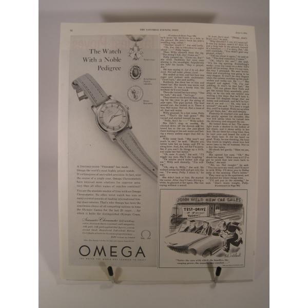 ヴィンテージ広告・アメリカ・モーター系・オイル・1954年【画像3】