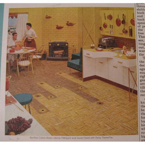 ヴィンテージ広告・アメリカ・ウエストクロック・1954年【画像6】