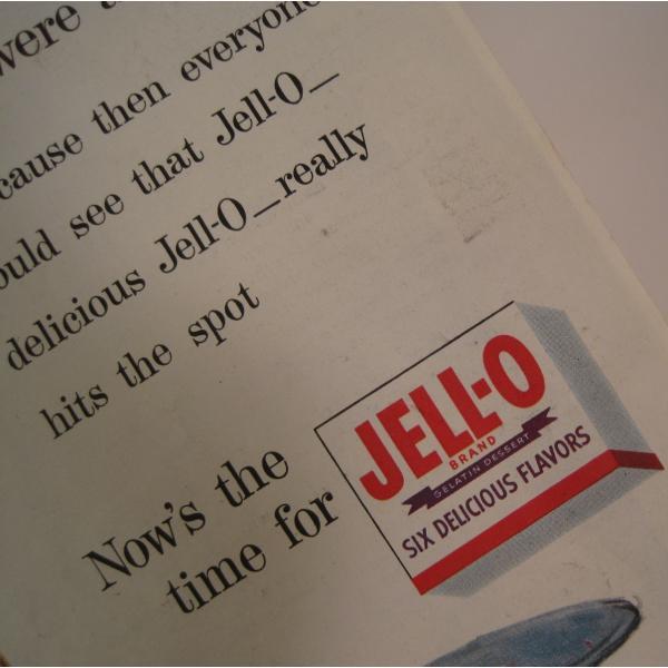 ヴィンテージ広告・アメリカ・ジェロ・JELLO・1954年【画像3】