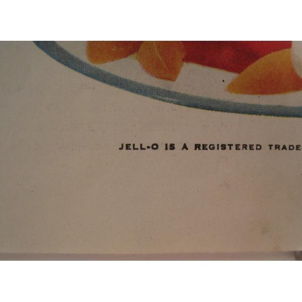 ヴィンテージ広告・アメリカ・ジェロ・JELLO・1954年【画像5】
