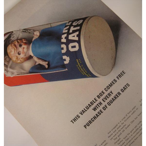 ヴィンテージ広告・Quaker Oats