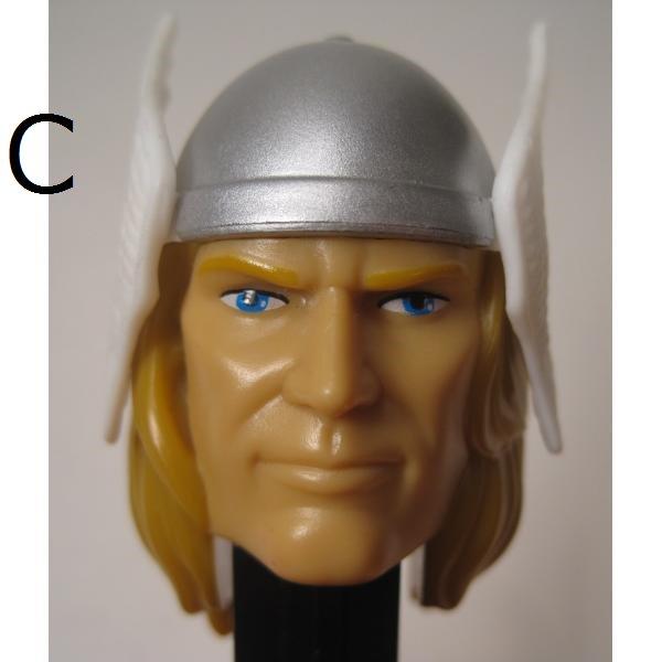 PEZ・ペッツ・Thor Marvel Superhero 2011 年製【画像14】