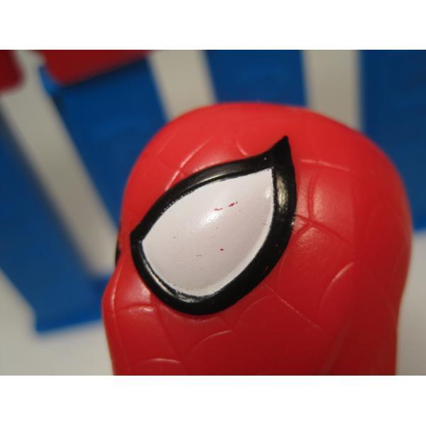 PEZ・ペッツ・スパイダーマン・ハンガリー製・ ブルーステム・パテント5スタート【画像7】
