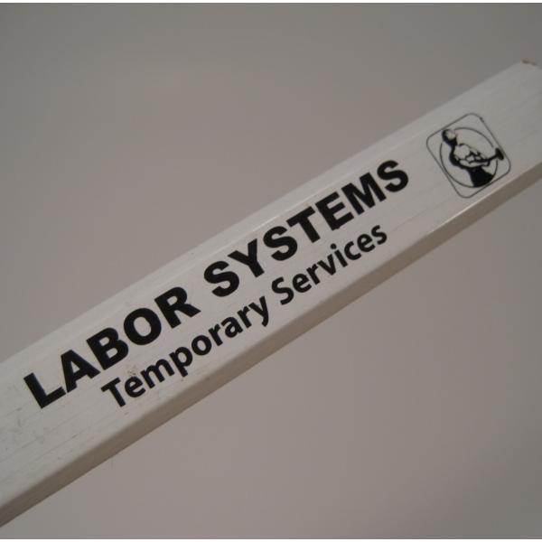 ヴィンテージ文房具・スクエアペンシル・Labor Systems