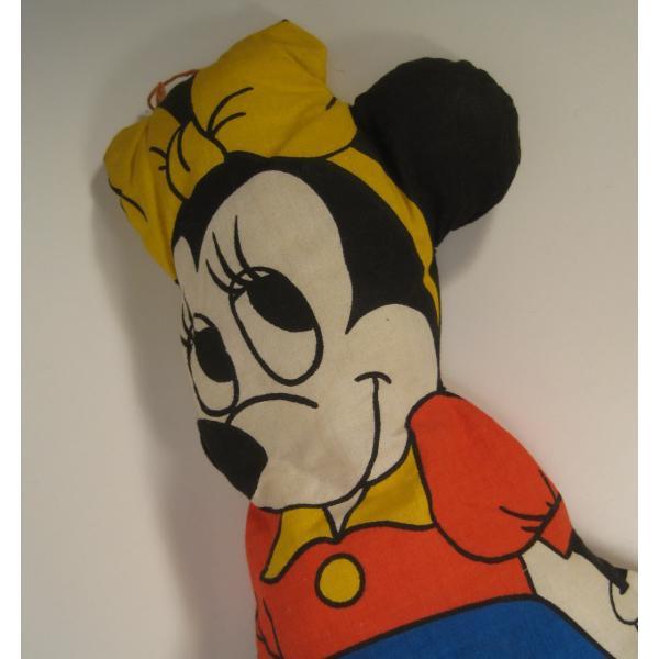 ミッキーマウスの仲間・ミニー・ピローぬいぐるみ・ディズニー