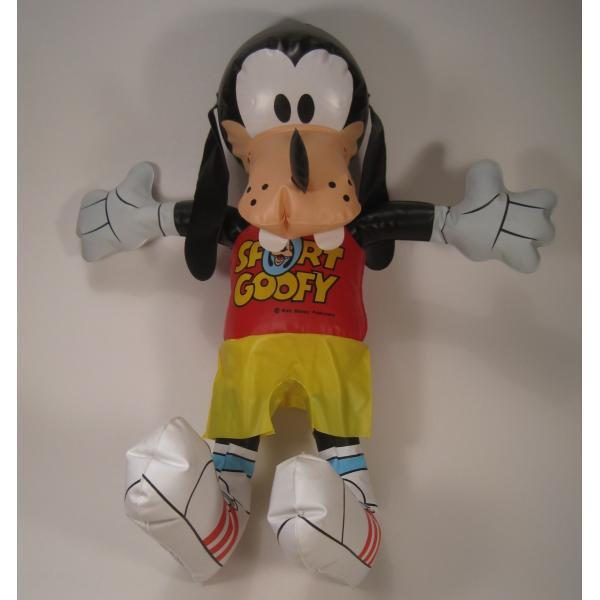 ミッキーマウスの仲間・グーフィー・ビニール製人形・ディズニー【画像2】