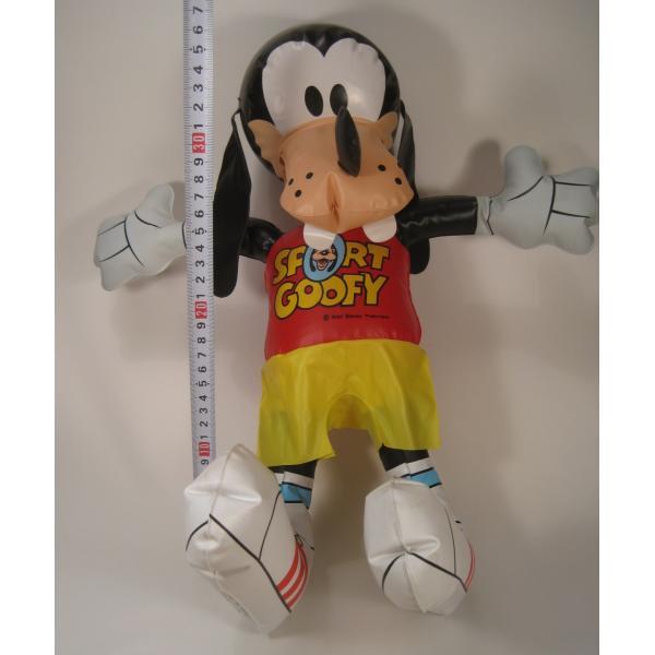 ミッキーマウスの仲間・グーフィー・ビニール製人形・ディズニー【画像14】