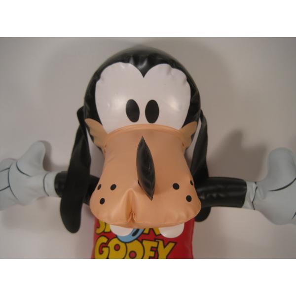 ミッキーマウスの仲間・グーフィー・ビニール製人形・ディズニー【画像4】