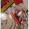 キーホルダー スヌーピーと仲間たち・未使用ケース付未開封・JOE COOL Snoopy・プラスチック製キーホルダー