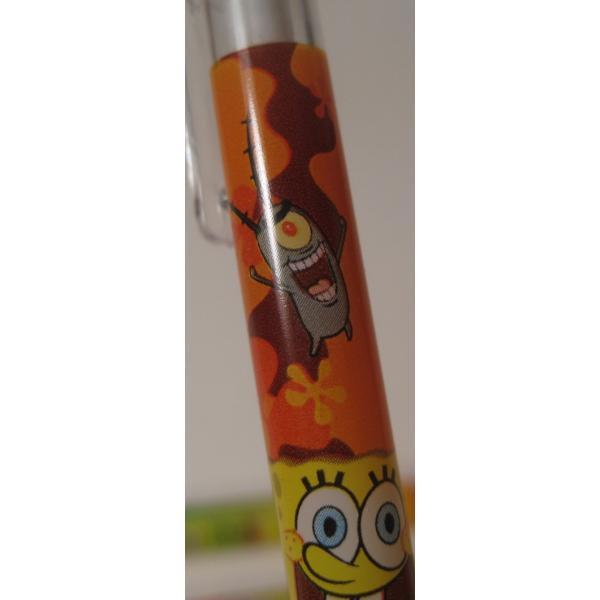スポンジボブ・芯入れ替え式・プラスチックシャープペン3本セット【画像3】