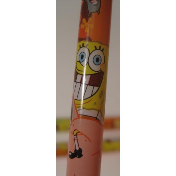 スポンジボブ・芯入れ替え式・プラスチックシャープペン3本セット【画像5】