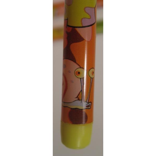 スポンジボブ・芯入れ替え式・プラスチックシャープペン3本セット【画像6】