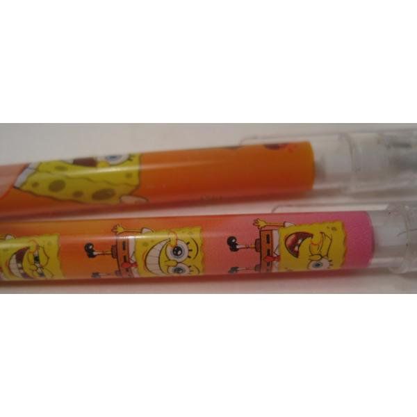 スポンジボブ・芯入れ替え式・プラスチックシャープペン3本セット【画像7】