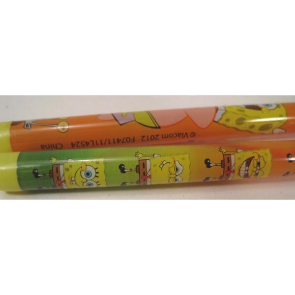 スポンジボブ・芯入れ替え式・プラスチックシャープペン3本セット【画像8】