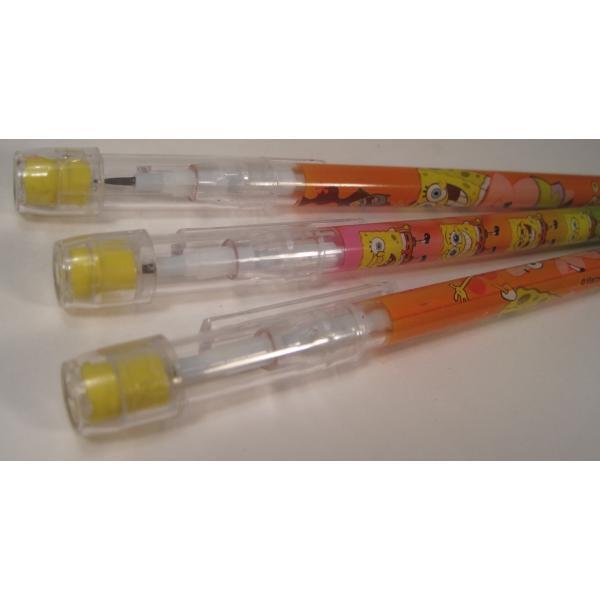 スポンジボブ・芯入れ替え式・プラスチックシャープペン3本セット【画像10】