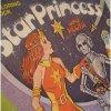 トランプ・パズル・ゲーム・塗り絵・ステンシルなど ヴィンテージぬりえ本・Star Princess and Pluta・使用済・1980年