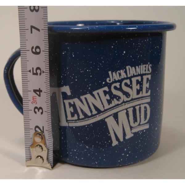 ジャックダニエル Jack Daniel's Tennessee Mud ブルーホーロー マグ カップ A【画像10】