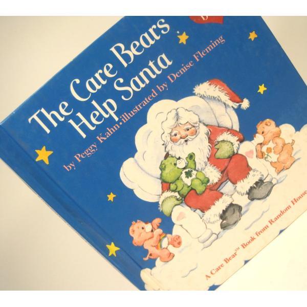 ヴィンテージ絵本・ケアベア・The Care Bears Help Santa