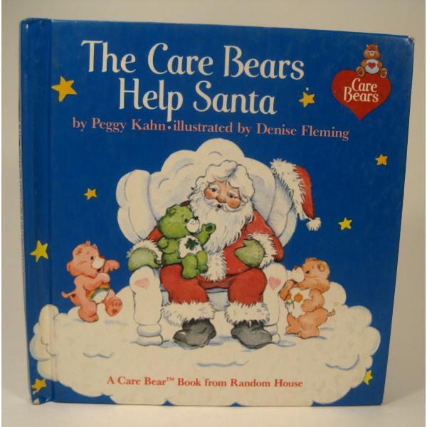 ヴィンテージ絵本・ケアベア・The Care Bears Help Santa【画像2】