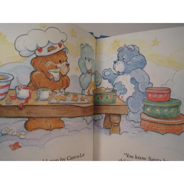 ヴィンテージ絵本・ケアベア・The Care Bears Help Santa【画像6】