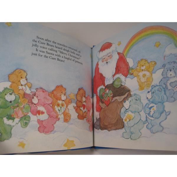 ヴィンテージ絵本・ケアベア・The Care Bears Help Santa【画像9】