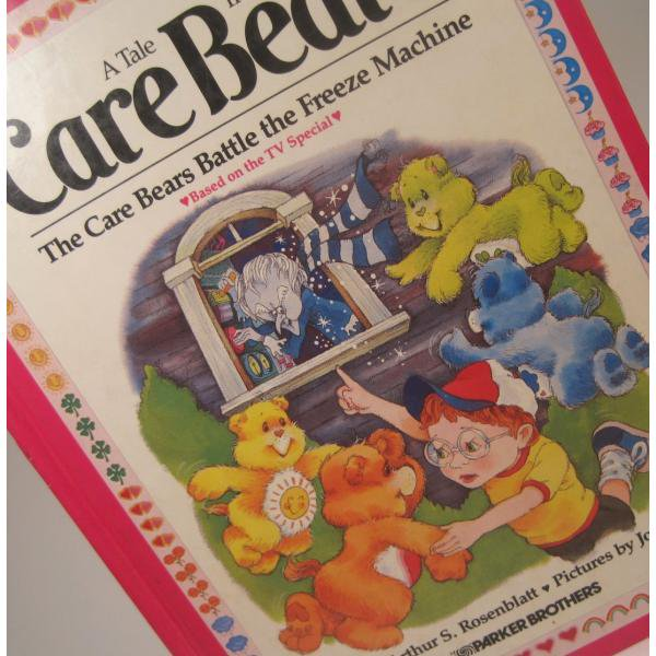 ヴィンテージ絵本・ケアベア・The Care Bears Battle the Freeze Machine