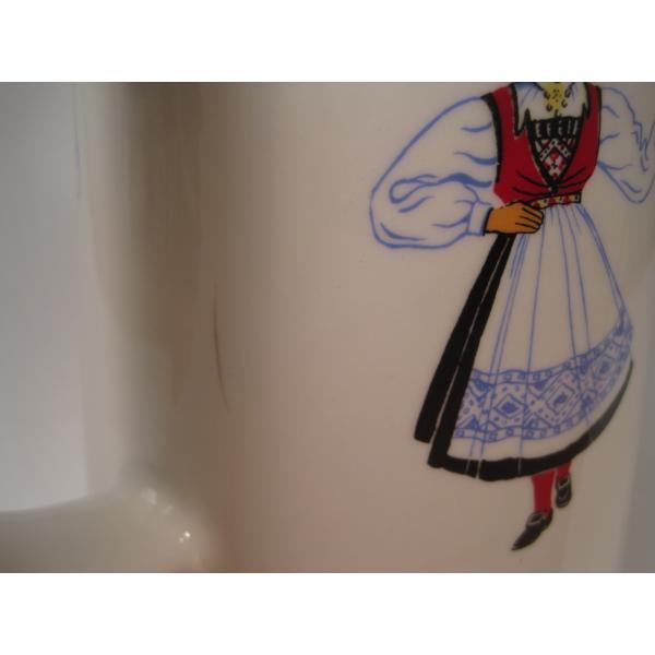 フィッギオ・ノルゲ・ノールウェイ・Hardanger Dancers by Figgjo・水差し【A】・大量入荷につき期間限定ご奉仕価格!【画像13】