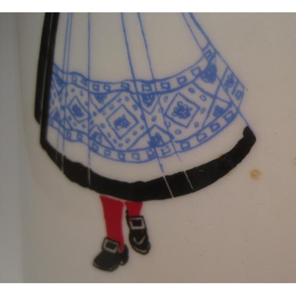 フィッギオ・ノルゲ・ノールウェイ・Hardanger Dancers by Figgjo・水差し【A】・大量入荷につき期間限定ご奉仕価格!【画像20】