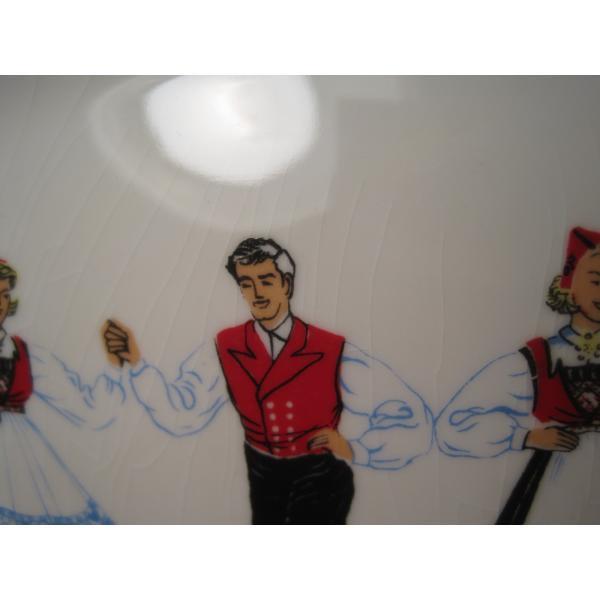 フィッギオ・ノルゲ・ノールウェイ・Hardanger Dancers by Figgjo・長方形プレート・大量入荷につき期間限定ご奉仕価格!【画像6】