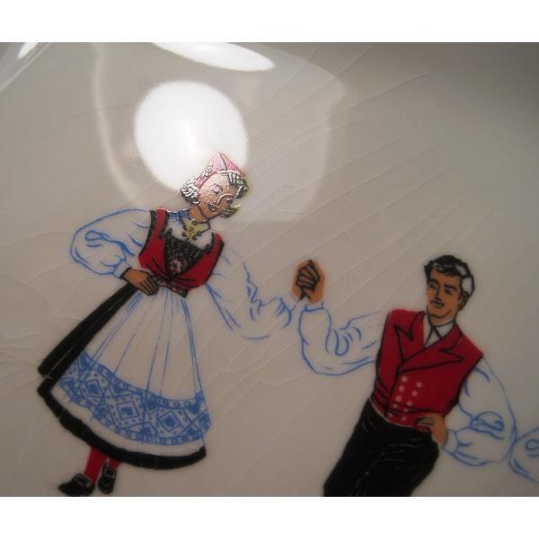 フィッギオ・ノルゲ・ノールウェイ・Hardanger Dancers by Figgjo・長方形プレート・大量入荷につき期間限定ご奉仕価格!【画像7】