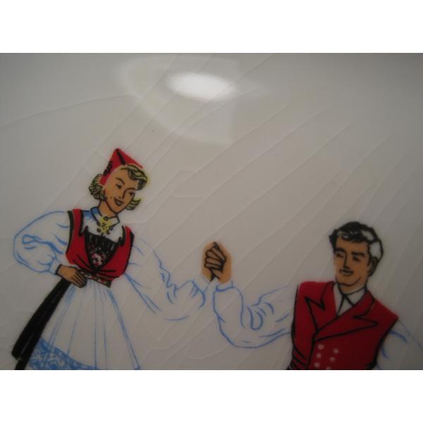 フィッギオ・ノルゲ・ノールウェイ・Hardanger Dancers by Figgjo・長方形プレート・大量入荷につき期間限定ご奉仕価格!【画像8】