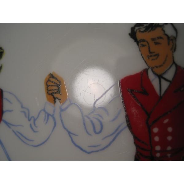 フィッギオ・ノルゲ・ノールウェイ・Hardanger Dancers by Figgjo・デザートプレート【A】大量入荷につき期間限定ご奉仕価格!【画像5】