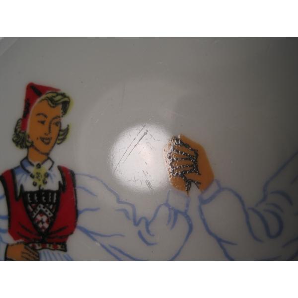 フィッギオ・ノルゲ・ノールウェイ・Hardanger Dancers by Figgjo・デザートプレート【A】大量入荷につき期間限定ご奉仕価格!【画像6】