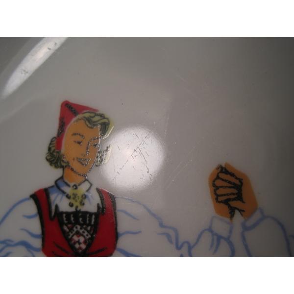 フィッギオ・ノルゲ・ノールウェイ・Hardanger Dancers by Figgjo・デザートプレート【A】大量入荷につき期間限定ご奉仕価格!【画像7】