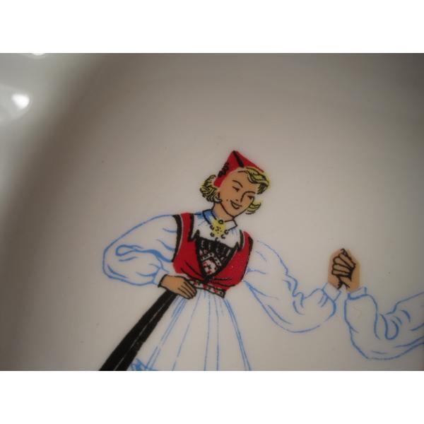 フィッギオ・ノルゲ・ノールウェイ・Hardanger Dancers by Figgjo・灰皿【A】大量入荷につき期間限定ご奉仕価格!【画像6】