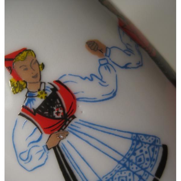 フィッギオ・ノルゲ・ノールウェイ・Hardanger Dancers by Figgjo・ミルクピッチャ・大量入荷につき期間限定ご奉仕価格!【画像9】