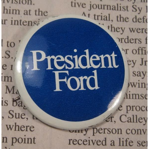 ヴィンテージ缶バッチ・President Ford・大統領選挙【画像2】