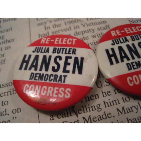 ヴィンテージ缶バッチ・Julia Butler Hansen・選挙候補者【画像4】