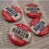 選挙 ヴィンテージ缶バッチ・Julia Butler Hansen・選挙候補者