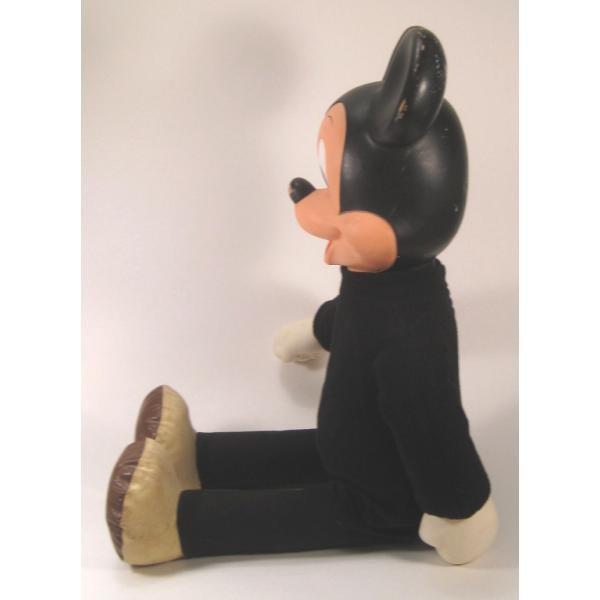 ヴィンテージ・ミッキーマウス・49センチ・ぬいぐるみ【画像11】