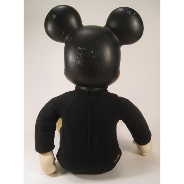 ヴィンテージ・ミッキーマウス・49センチ・ぬいぐるみ【画像13】