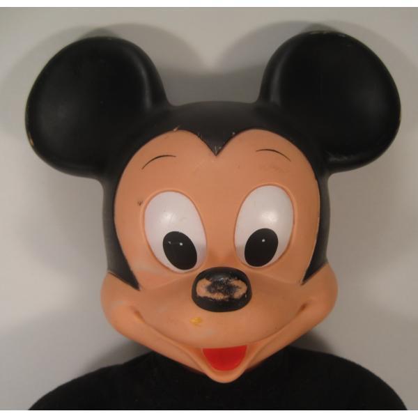 ヴィンテージ・ミッキーマウス・49センチ・ぬいぐるみ【画像3】