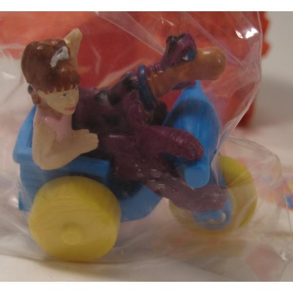 1993年・ハッピーミール・フリントストーン・ぺブルスとディノのトイザラス・おもちゃ屋さんセット【画像2】