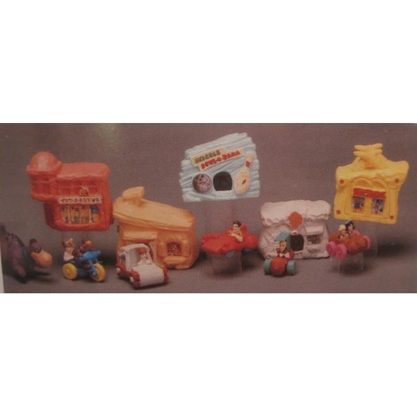 1993年・ハッピーミール・フリントストーン・ぺブルスとディノのトイザラス・おもちゃ屋さんセット【画像18】